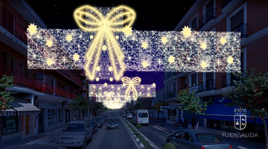 Fuensalida: novedosa iluminación navideña