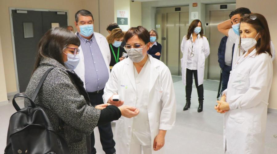 Toledo: El Hospital Universitario comienza a recibir a sus primeros pacientes