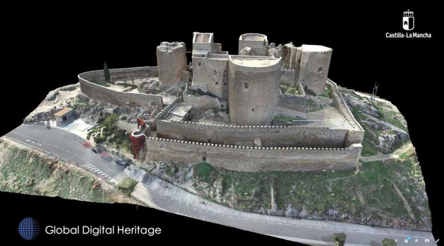 Consuegra: El Castillo en 3D pasa a ser de los más reconocidos