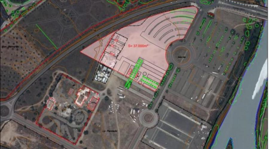 Toledo: Futuro cuartel de la Guardia Civil en La Peraleda