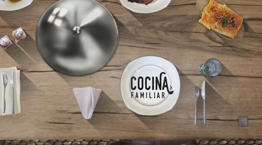 COCINA FAMILIAR CON JAVIER ROMERO a las 13:00hs.